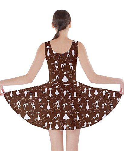CowCow - Vestido - para mujer marrón