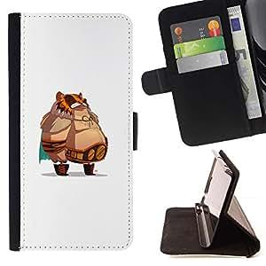 Momo Phone Case / Flip Funda de Cuero Case Cover - Jefe de grasa;;;;;;;; - Samsung Galaxy Note 5 5th N9200