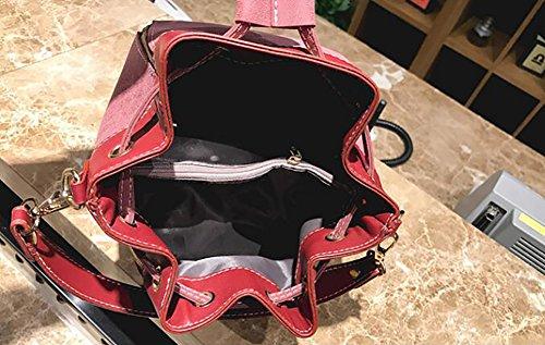 Sacs sacs bandoulière hobo tas Femme'Sac manutention de sauvage Sacs Top à vin rouge pour filles Sacs s Poche noir Bandoulière de seau qqAta