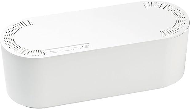 D Line Kabelbox Eu Ctusmlw Sw Kabelmanagement Box Zum Kabel Verstecken Bei Kabelsalat Klein Weiß Baumarkt
