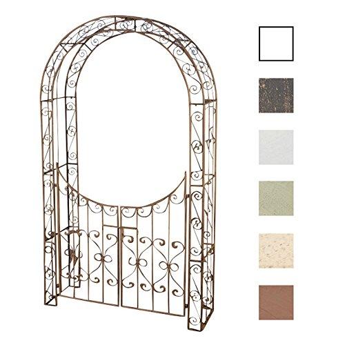 clp metall rosenbogen sina mit tor t r durchgangs h he 235 cm durchgangs breite ca 110 cm. Black Bedroom Furniture Sets. Home Design Ideas