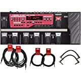 Boss RC 300 Loop Station Looper Pedal Board w/ 6 Cables