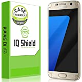 Galaxy S7 Screen Protector, IQ Shield® LiQuidSkin (2-Pack Case Friendly) Full Coverage Screen Protector for Galaxy S7 HD Clear Anti-Bubble Film - with Lifetime Warranty
