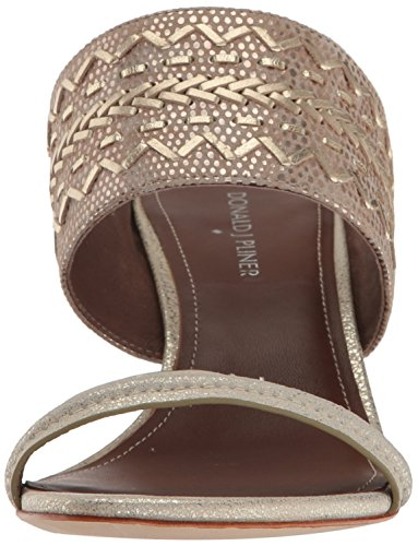 Donald J Pliner Donna Viv Dress Sandalo Platino