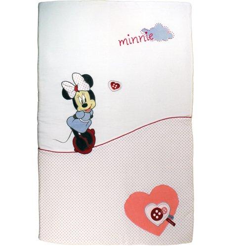 Babycalin Edredon Couvre Lit, Love Minnie, 60 x 120 cm: Amazon.fr