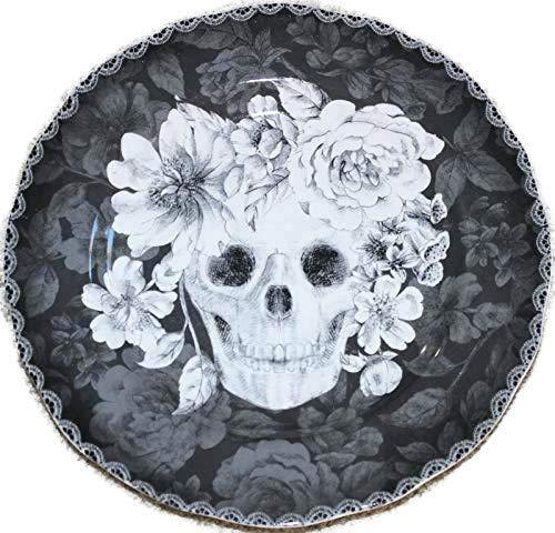 222 Fifth Halloween Marbella Skull 10-1/2