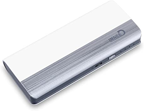 IMNEED® Batería externa (Power Bank) 10000mAh, Batería portátil ...
