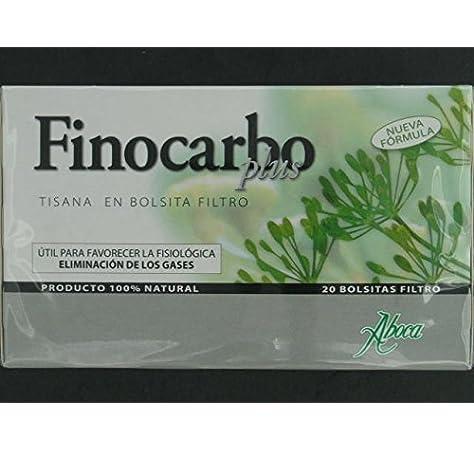 ABOCA Finocarbo plus tisana 20 bolsitas: Amazon.es: Salud y ...