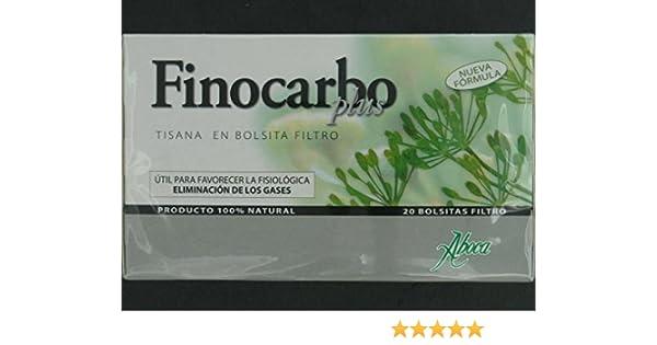 ABOCA Finocarbo plus tisana 20 bolsitas: Amazon.es: Salud y cuidado personal