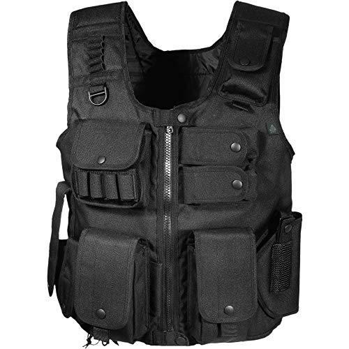 UTG Law Enforcement Tactical SWAT Vest, Black -
