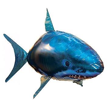 Henbrandes Control Remoto Tiburón Pez Volador Niño Padre ...