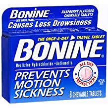 BONINE TAB 8Tablets by INSIGHT PHARMACEUTICALS
