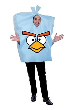 Paper Magic Angry Birds Costume Blue One Size  sc 1 st  Amazon.com & Amazon.com: Paper Magic Unisex - Adult Angry Birds Costume: Clothing
