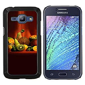 For Samsung Galaxy J1 J100 Case , Naturaleza Hermosa Forrest Verde 90- Diseño Patrón Teléfono Caso Cubierta Case Bumper Duro Protección Case Cover Funda