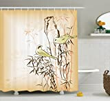 Ambesonne Bamboo House Decor Collection, Bamboo Leaf - Best Reviews Guide