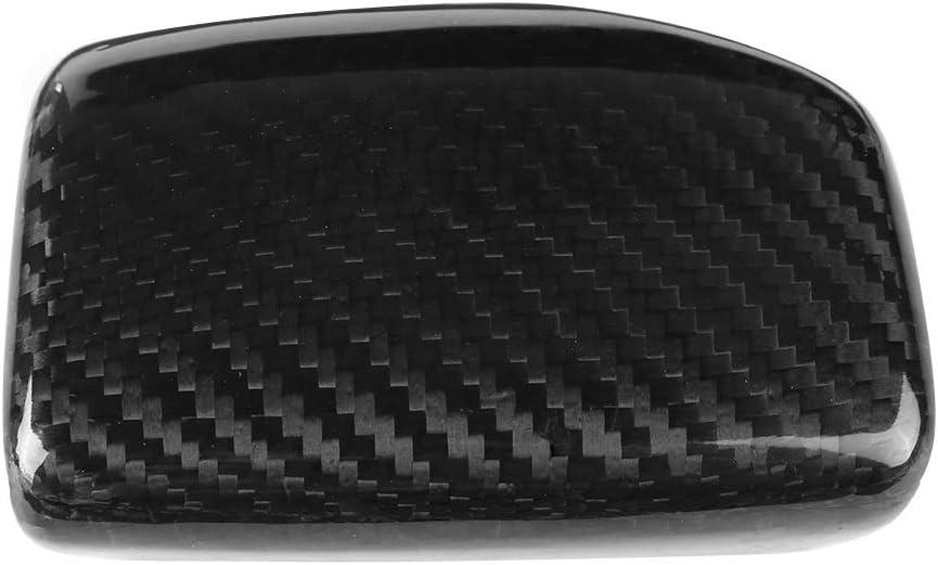 Broco Carbon-Faser-Auto Schaltknauf Kopfdeckel Trim for Audi A4 S4 RS4 B9 A5 S5 RS5 Q5 Q7