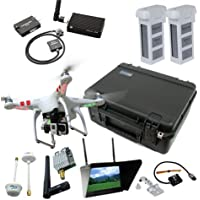 DJI Phantom 2 V2.0 Deluxe Mapping Bundle By Drones Made Easy (GoPro Hero4 Black) Overview Review Image