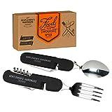 Gentlemen's Hardware Camping Cutlery Spoon and Fork Multitool