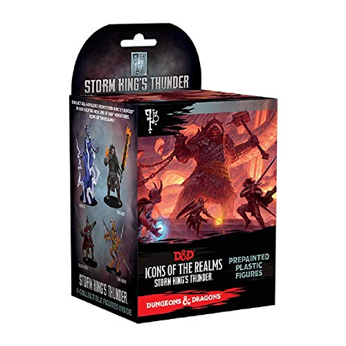 (NECA Icons of The Realms: Standard Booster 8 Count Brick - Storm King's Thunder )