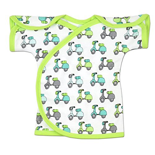 Trim Open Knit - Perfectly Preemie NIC-IV Shirt - NICU Approved (Scooter, Preemie (3-6lbs))