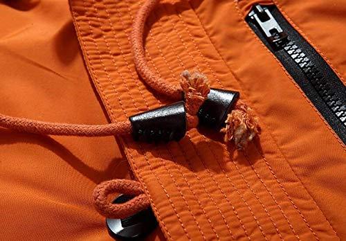 Chaqueta Capucha con BoBoLily Down Duck De Chaqueta Ntel Hombres De Abajo De con Invierno Cálida 1 Plumón Hombres Down Los Chaqueta Los Down orange De qr7XY7Fw