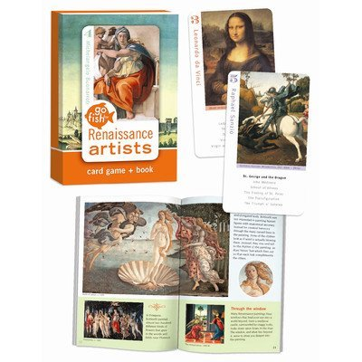 Go Fish for Art Renaissance Cards Card Game (Art Memory Game)
