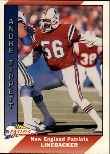 1991 Pacific Football Card #315 Andre Tippett Near Mint/Mint - 1991 Pacific Football