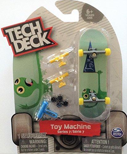 Tech Deck TOY MACHINE Series 7 Green Turtle Ultra Rare #20089652 (Rare Green)