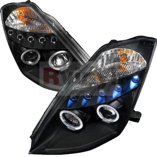 Spec-D Tuning Nissan 350Z 2003 2004 2005 Projector Headlights