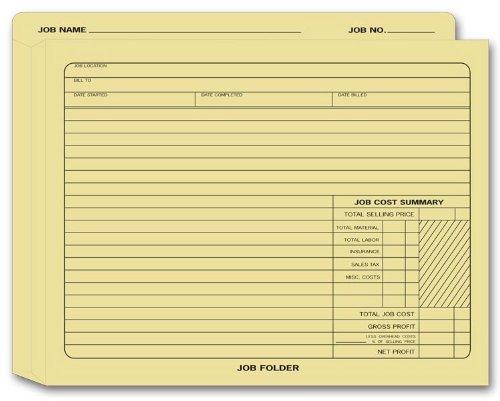 Job Folder - EGP Expandable Job Folder, 12