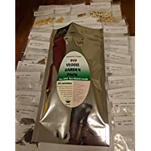Non-gmo Canada Heirloom Vegetable Seeds 24 different types Variety Pack Made for Cold climates