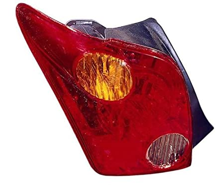 Depo 312-1951R-US Scion XA Passenger Side Replacement Taillight Unit without Bulb