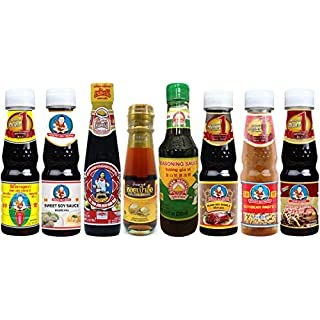 Thai Food Cooking Sauce Kit (Professional Set, Small-size Bottle)