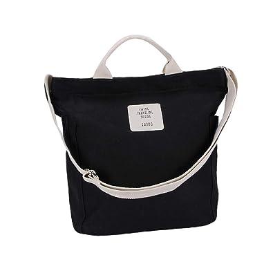 Amazon.com: ZOORON Bolsa de lona para mujer, linda bolsa ...
