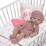10 Inch Newborn Life Like Baby Dolls for Girls - Vinyl Body and Realistic Doll Features - Bonus Baby Doll Clothing