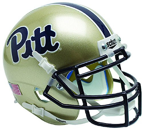 Schutt Pittsburgh Panthers Replica Helmet - Schutt NCAA Pittsburgh Panthers Authentic Mini Football Helmet Desk Caddy