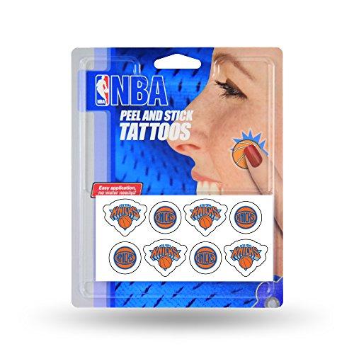 NBA New York Knicks Face Tattoos, 8-Piece - Tattoo New York Knicks