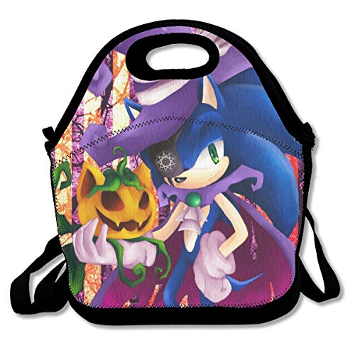 Halloween Sonic Insulated Lunch Bag/Lunch Box/Lunch Tote/Picnic Bags For Women/Men/Girls/Boys/Kids Picnic Work School]()