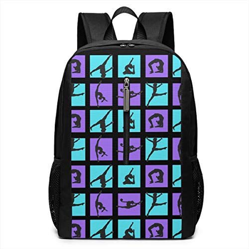 Boys Grils Rucksack Back To School Gift - Gymnastics Game Carry On Bag Casual College School Daypack Camping Outdoor Backpack, Casual Daypack Climbing Shoulder Bag