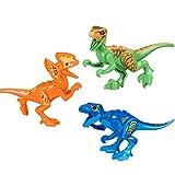 BeneGlow 8 Set Lifelike Mini Dinosaur Building Block Figures Toy