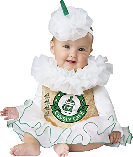 Coffee Cup Costumes (Fun World Baby Girls' Cuddly Cappuccino, Multi,)