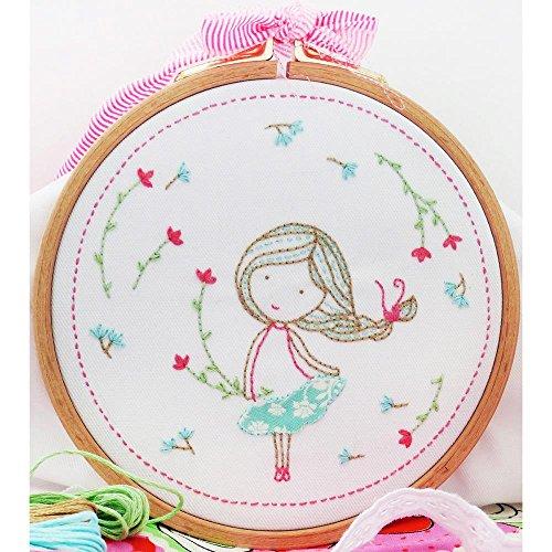 DMC Kit Spring Girl Tamar Embroidery KitSpringGirl -