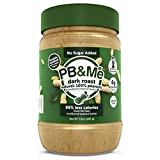 PB&Me Dark Roast Powdered Peanut Butter, No Sugar Added, 1 lb, 1 Count