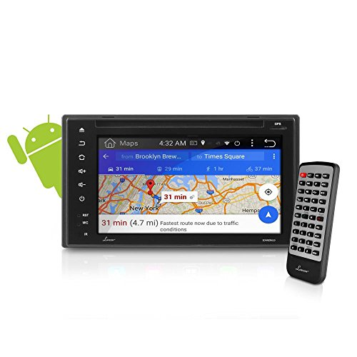 "Premium Lanzar Android 6.5"" Double Din Bluetooth Widescreen"