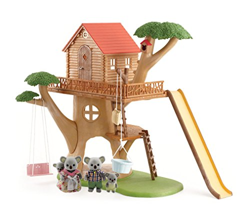 Calico Critters Tree House with Koala Family Set ()