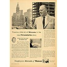 1956 Ad Employers Mutuals Wausau Insurance Weir Mann - Original Print Ad