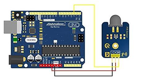 Sensor de movimiento de PIR () para compatible con Arduino: Amazon.es: Industria, empresas y ciencia