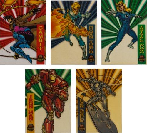 1994 Fleer Marvel Universe Series-V New Complete 10-Card ...