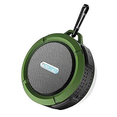 VICTORSTAR@ Wireless Bluetooth 3.0 Waterproof Outdoor & Shower Speaker with 5W Speaker / Suction Cup / Mic / Hands-Free Speakerphone