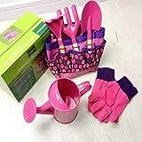 Kids Gardening Tool Set (Pink)